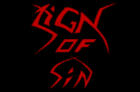 Logo Sign Of Sin
