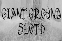 Logo Giant Ground Sloth