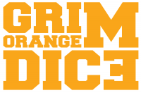 Logo Grim Orange Dice