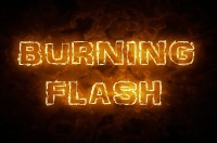 Logo Burning Flash