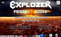 Explozer Fest II - nabór kapel do 30.04.2018